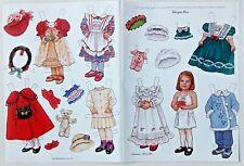 Theresa Borelli  Collectable Paper Dolls Morgan Ross Martha Pullen