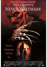 Wes Craven's New Nightmare - Robert Englund - A4 Laminated Mini Movie Poster