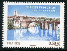 STAMP / TIMBRE DE FRANCE  N° 4513 ** VILLENEUVE SUR LOT LE VIEUX PONT