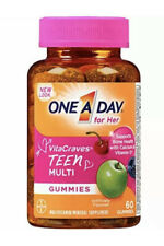 ONE A DAY TEEN Multi Gummies For HER 60 Gummies. Ex. 08/2020