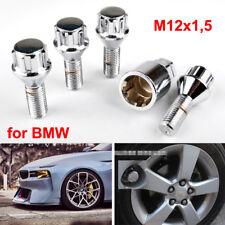 4x Autoreifen Satz Felgenschlösser Radschlösser Schrauben BMW M12x1,5 Kegelbund