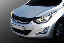 Front Bonnet Acrylic Hood Guard Garnish Molding for Hyundai Elantra 11-13