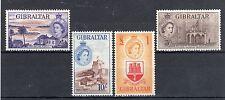 Gibraltar 1953-59 2s - £1 MH