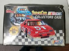 Racing Champions Nascar Collectors Case with Cars and cards. Year 1990 (6D)