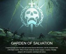 Destiny 2 SHADOWKEEP - GARDEN OF SALVATION  FULL RAID  PS4 CROSSSAVE (SALE)