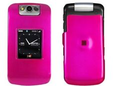 Rose Pink Snap On Plastic Phone Cover Case for BlackBerry Pearl Flip 8230 8220