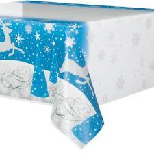 Decoración y menaje manteles plástico Navidad para mesas de fiesta