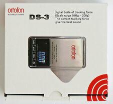 Ortofon DS-3 Cartridge Digital Scale Needle Stylus Pressure Gauge (NEW IN BOX)