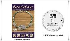 """KUMIHIMO Braiding for Jewelry Designers book Anne Dilker plus Mini Disc 4-1/2"""""""