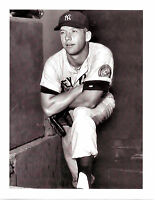 ROOKIE MICKEY MANTLE NEW YORK YANKEES  8x10 PHOTO BASEBALL HOF USA MLB