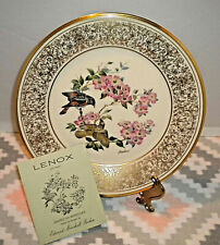 "Vtg Lenox Collector Plate Boehm Birds American Redstart 10 1/2"" 1975"