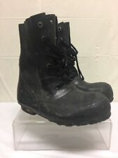 Military issued US Army Men's HOOD Mickey Mouse Cold Weather Rubber Boots 7W