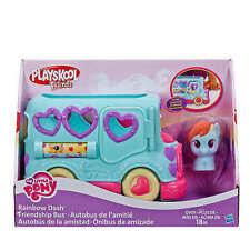Playskool Friends My Little Pony Rainbow Dash Friendship Bus IN HAND TO SHIP