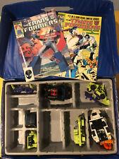 Lot of Transformers Hasbro, Parts Of Devastator, Box and Comics