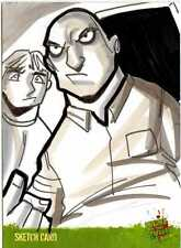 Night of the Living Dead Sketch Card drawn by Michael Duron