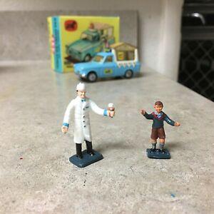 Corgi Toys  447-474 Figure Set Reproduction for Walls Ice cream Ford Thames