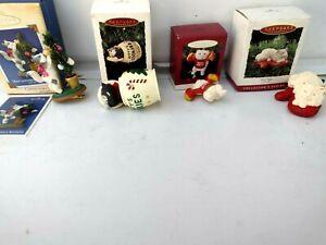 Hallmark Keepsake Ornaments Cats//Kittens 1993 - 2004 Collectible Assorted Box