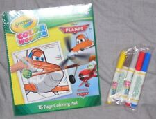 Disney Planes 18-page Coloring Pad with Markers