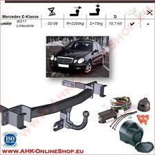AHK ES13 Mercedes E-Klasse W211 2002-09 Anhängevorrichtung Anhängerkupplung NEU