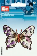 Prym Iron On Butterfly Applique Motif  Animal print & Sequins - each (926...