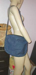 BLUE JEANS Denim HOBO Lightweight SHOULDER Crossbody Bag