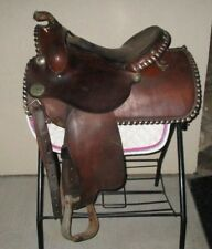 """CIRCLE Y - Western Pleasure/Trail/Training Saddle - 15"""" - HEAVY DUTY - Comfy! NR"""
