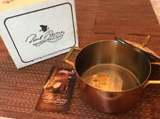 Paul Rever Ware Signature Collection solid copper 3qt covered buffet casserole