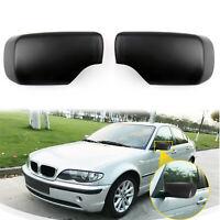 Cover Cap PAIR Door Mirror For BMW E39 E46 530i 540i 325i 330i 525i 528i 98-04