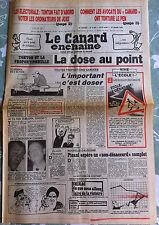 """Le Canard Enchainé 27/03/1985; Les avocats du """"Canard"""" ont torturé Le Pen"""