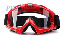 RED DIRT BIKE ATV MOTORCYCLE GOGGLE MOTOCROSS H GOGGLE-RED