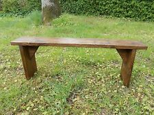 RUSTIC VINTAGE STYLE RECLAIMED WOODEN BENCH/STOOL...LAST 2 LEFT AT THIS PRICE!!
