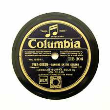"LEN FILLIS (Hawaiian Guitar) ""Dancing On The Ceiling"" COLUMBIA DB-304 [78 RPM]"