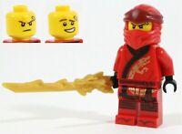 LEGO NINJAGO 70670 LEGACY KAI MINIFIGURE FIRE NINJA TEMPLE - NEW GENUINE