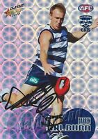 ✺Signed✺ 2008 GEELONG CATS AFL Card DARREN MILBURN