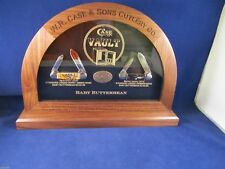 Case XX Baby Butterbean Knife Vault Commemorative Set Only 250 - Serial # 250