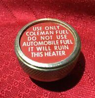 NEW ... COLEMAN ... Heater  Fuel  Filler  Cap  Plug .. Part #513-1401