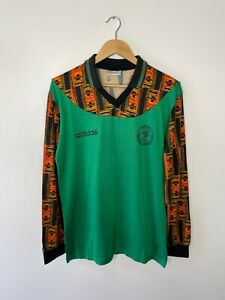 NIGERIA 1994 (MEDIUM) PROTOTYPE FOOTBALL SHIRT ADIDAS (VINTAGE CLASSIC RETRO)
