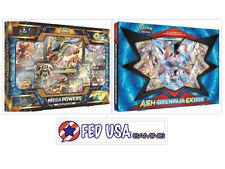 Mega Powers Collection + Ash Greninja EX Box POKEMON TCG 12 Booster Packs