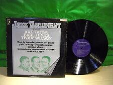 Earl Hines / Art Tatum / Teddy Wilson ' LP N.MINT SPAIN PRESS