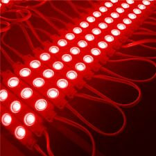 20X LED Module Werbebeleuchtung ad Showcases Red Light Advertisement 12V