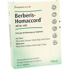 BERBERIS HOMACCORD Ampullen vet. 5X5 ml PZN 3042447