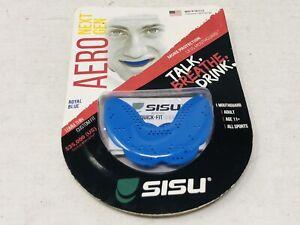 SISU NextGen Aero Guard 1.6mm Thin Custom Fit Mouthguard - Royal Blue EXP 11/20