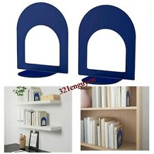 IKEA BOTTNA 2 Book Ends BLUE (1 Pair) NEW