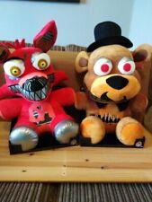 """Five Nights At Freddys Freddy And fox 16"""" Plush /toys Bundle"""