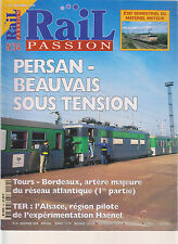 RAIL PASSION N° 34 TRAIN WALT DISNEY / DEPOT METZ - SABLON / X 73500 /TER ALSACE