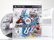 Nfl Madden 13/2013-dt. version - ~ PlayStation 3 juego ~