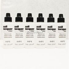 6 X OPI Nail Polish Lacquer Thinner 60 mL - 2 fl oz NTT01 Wholesale Lot Set