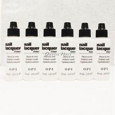 6 X OPI Nail Polish Lacquer Thinner 60 mL - 2 fl oz NTT01 Wholesale Lot Set