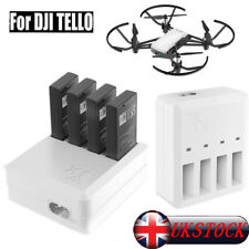 For DJI Tello Drone 4in1 RC Intelligent Quick Charging Multi Battery Charger Hub