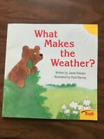 Troll Paperback What Makes The Weather by Janet Palozzo; Paul Harvey